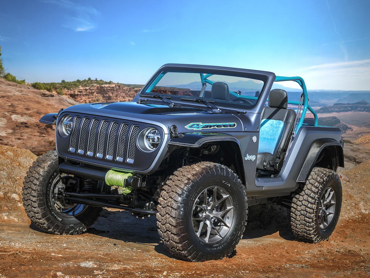 Bild zu Jeep 4SPEED Concept