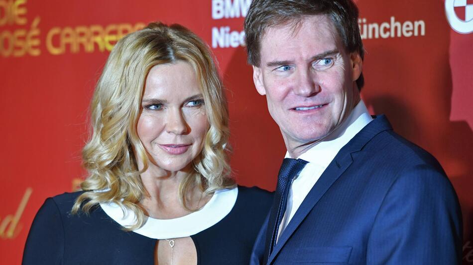 Carsten Maschmeyer (r.) machte seiner Frau Veronica Ferres eine Liebeserklärung.