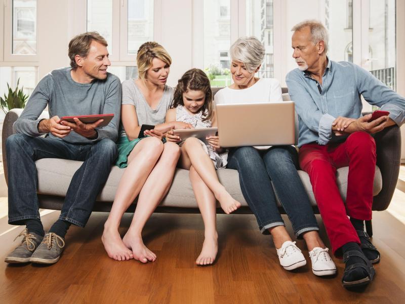 Bild zu Sparen mit Familienkonten