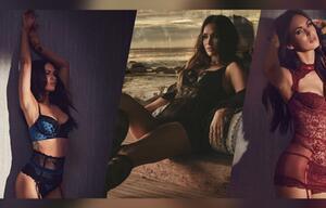 Meghan Fox heizt in sexy Unterwäsche ein