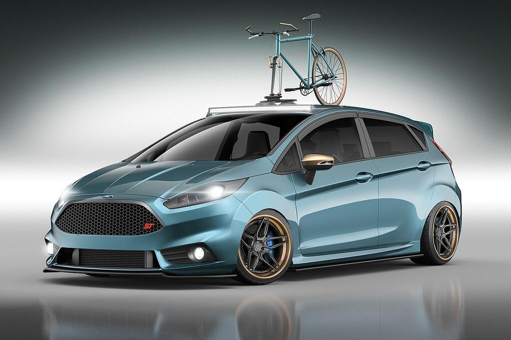 Wildes Sextett: Ford Focus und Fiesta mit radikalem SEMA-Tuning