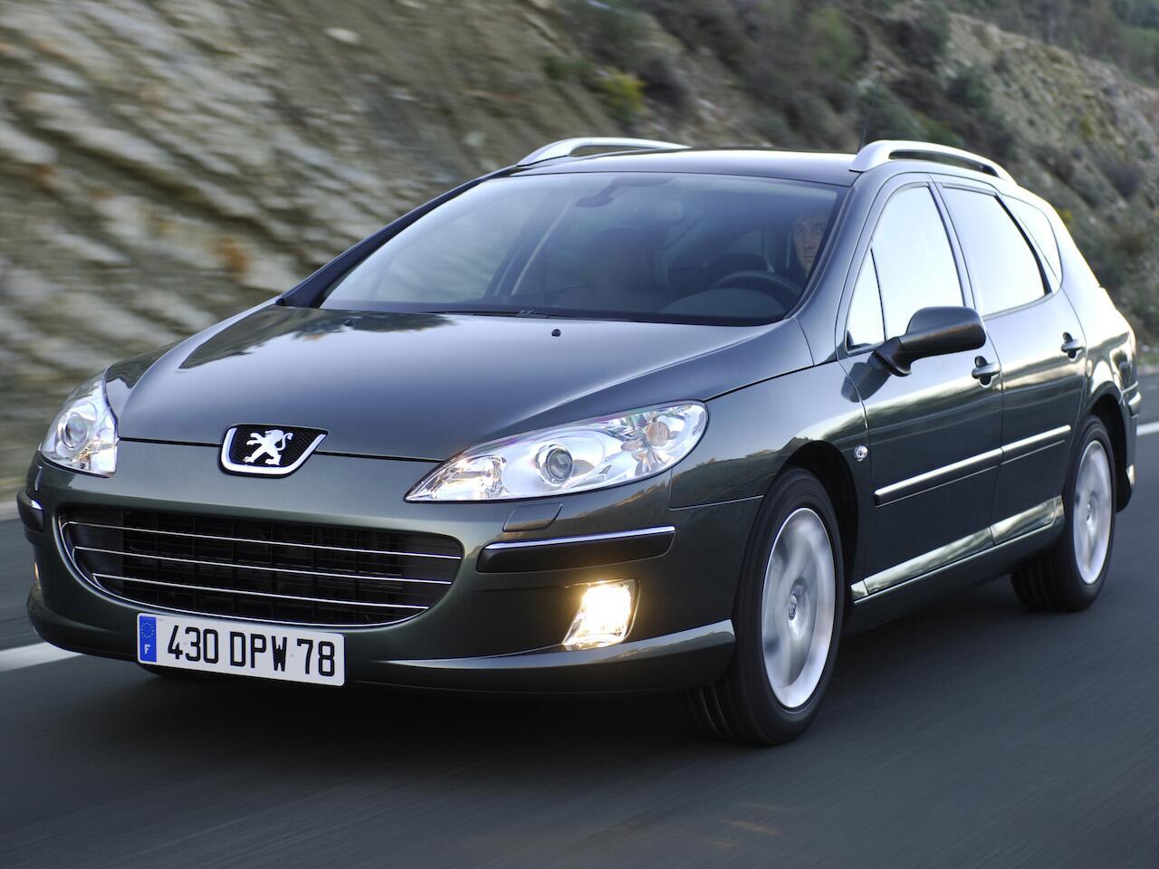 Bild zu Platz 10: Peugeot 407
