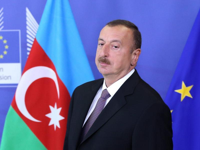 Bild zu Ilham Aliyev