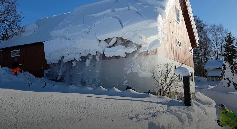 Bild zu Schneedach