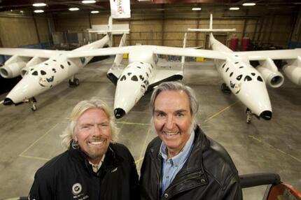 Branson und Rutan