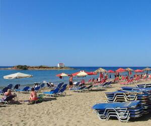 Strand von Malia auf Kreta