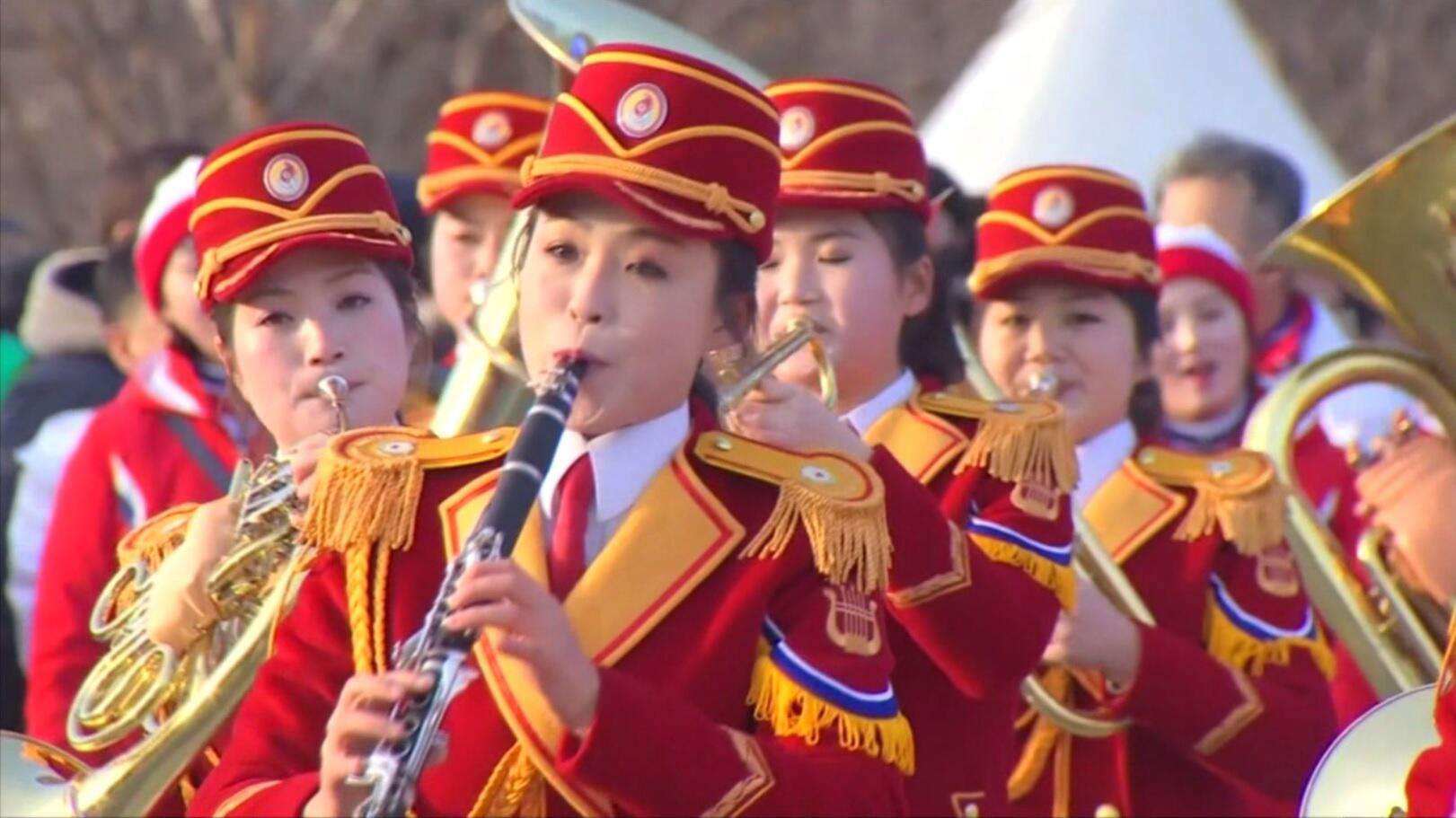 Bild zu Konzert von Nordkorea bei olympischen Spielen