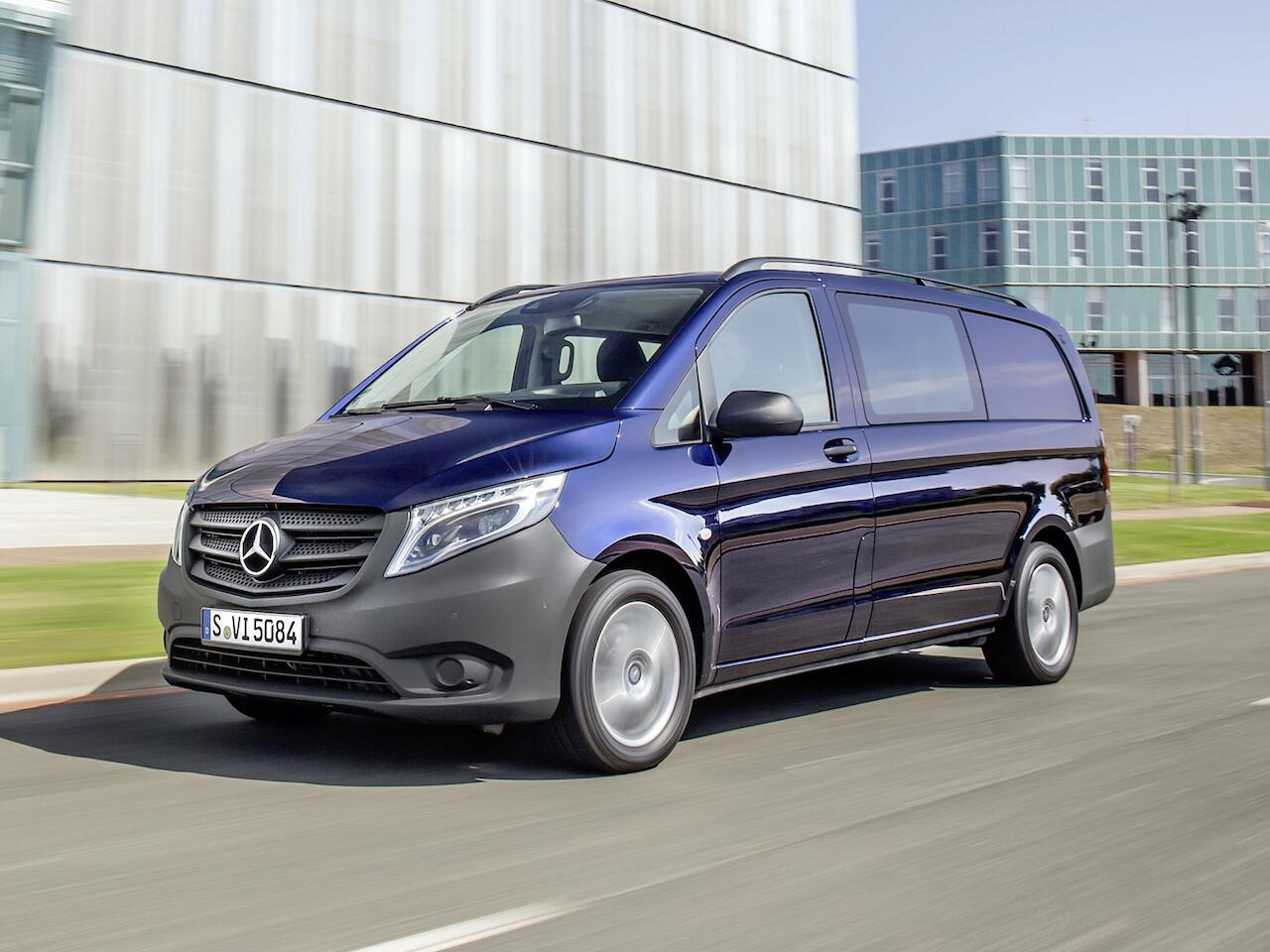Bild zu Platz 9: Mercedes-Benz Vito