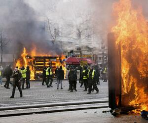 """""""Gelbwesten»-Proteste in Frankreich"""