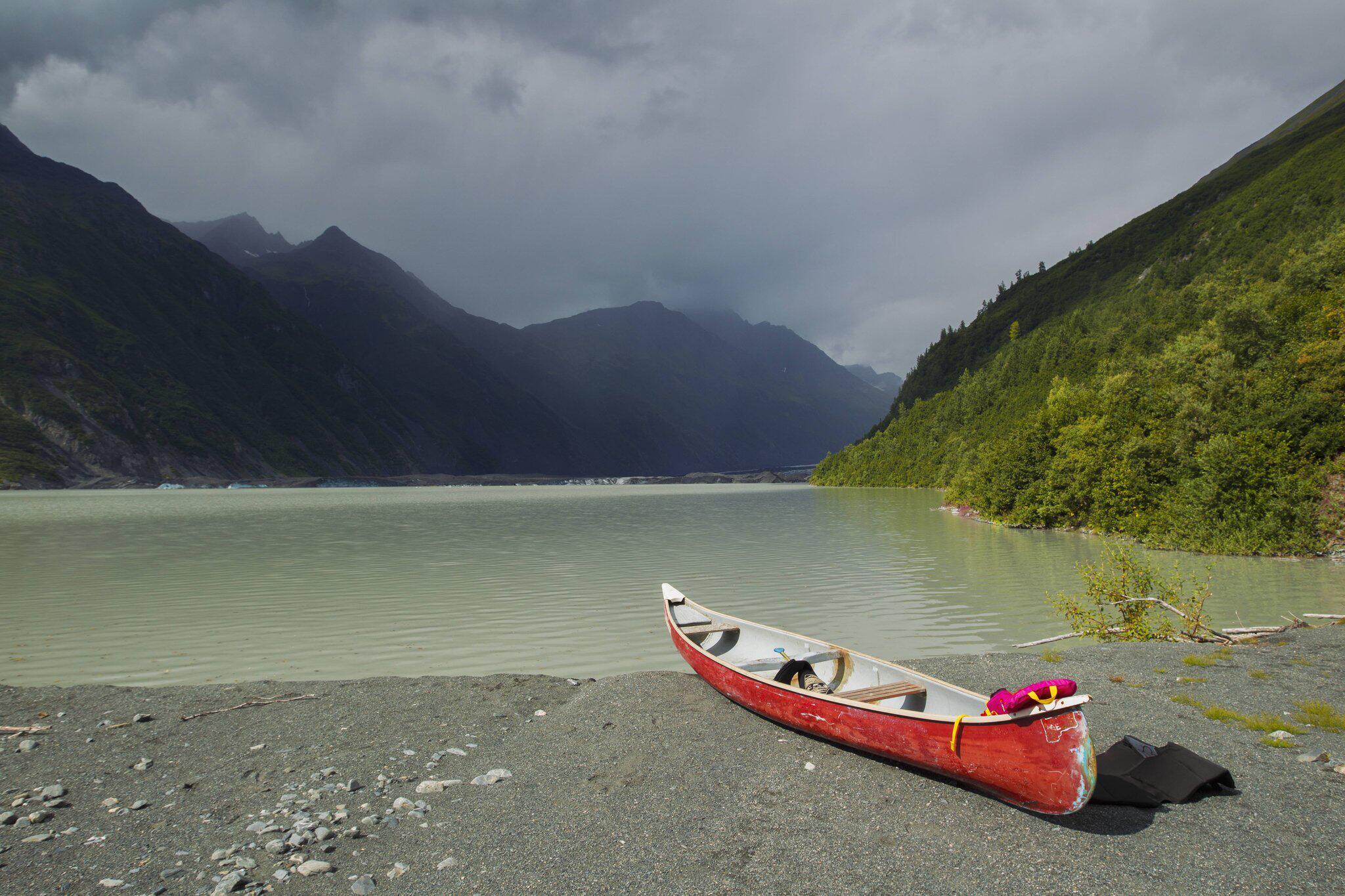 Bild zu See am Valdez-Gletscher in Alaska