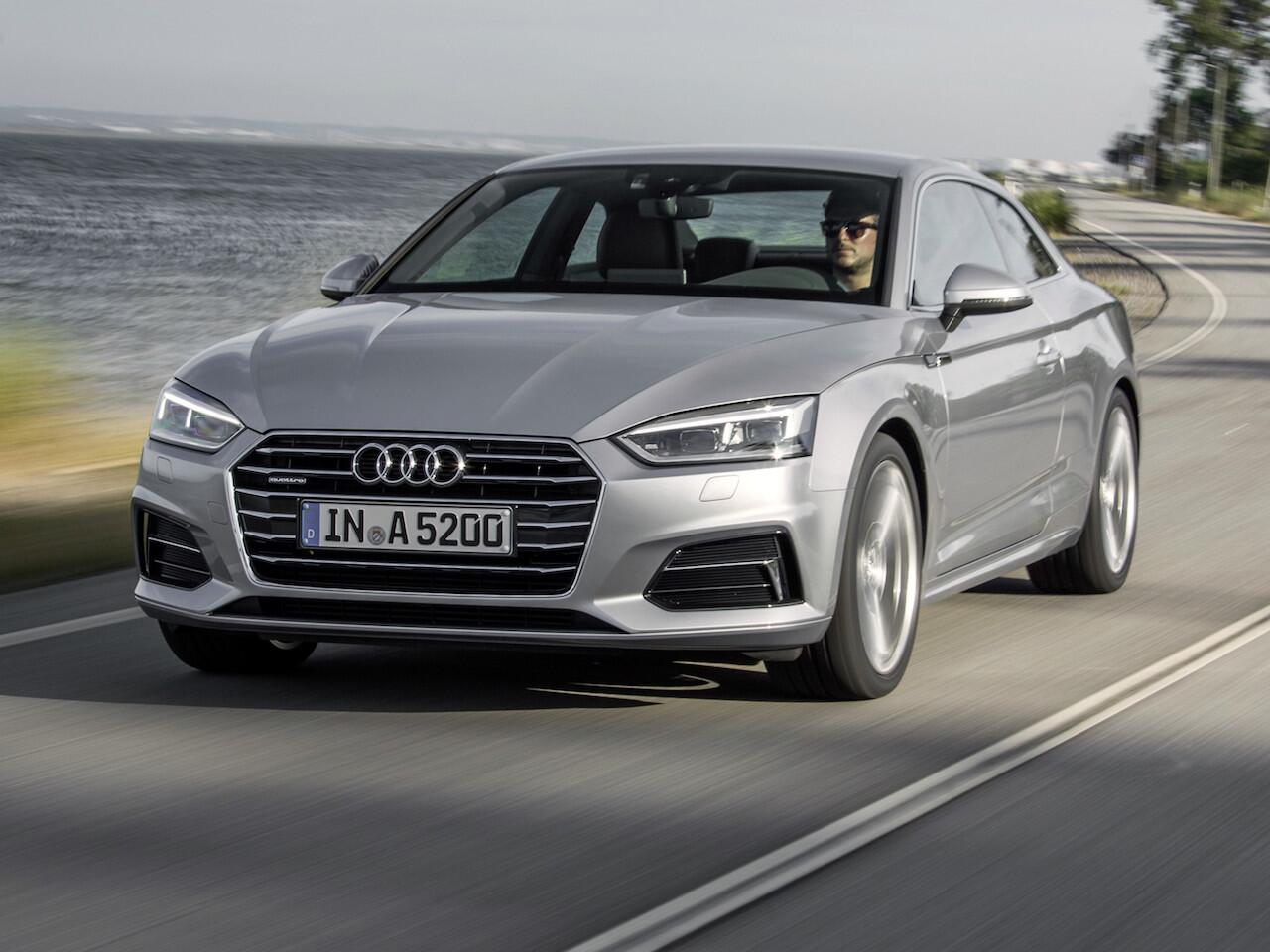 Bild zu Platz 8: Audi A5
