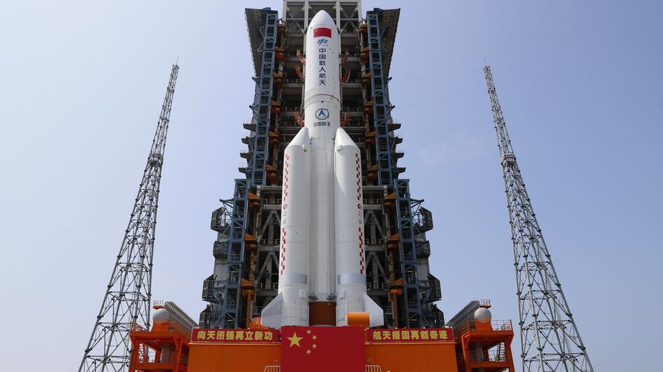 Start der chinesischen Raumstation