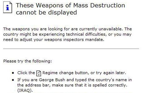 Bild zu Google und die Weapons of Mass Destruction