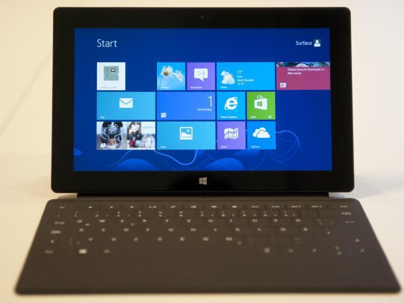 Bild zu Microsoft - Windows 8