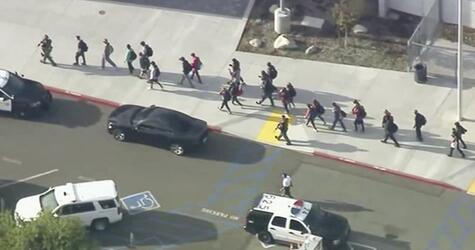 Schüsse in Schule in Kalifornien