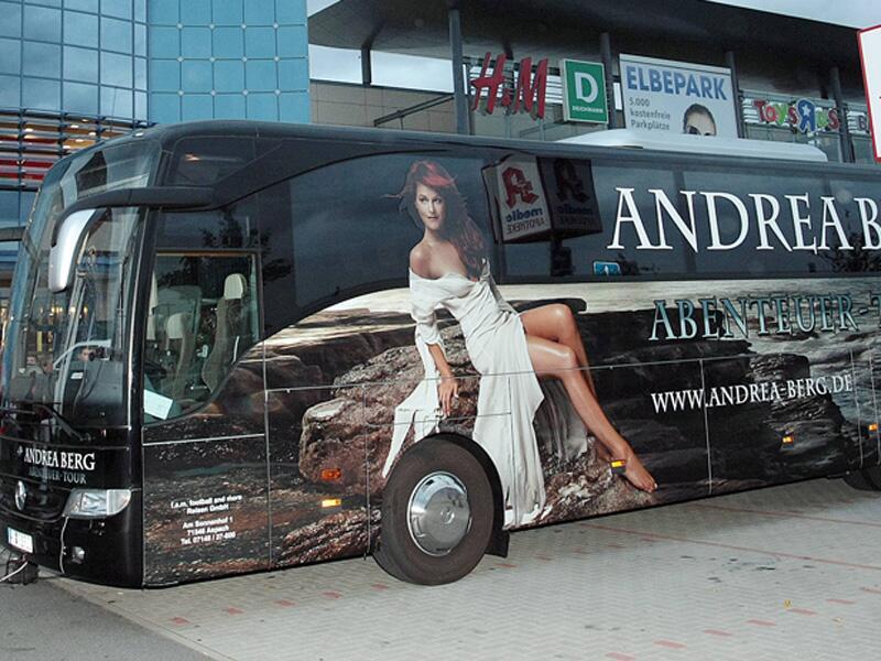 Bild zu Andrea Berg Tour-Bus