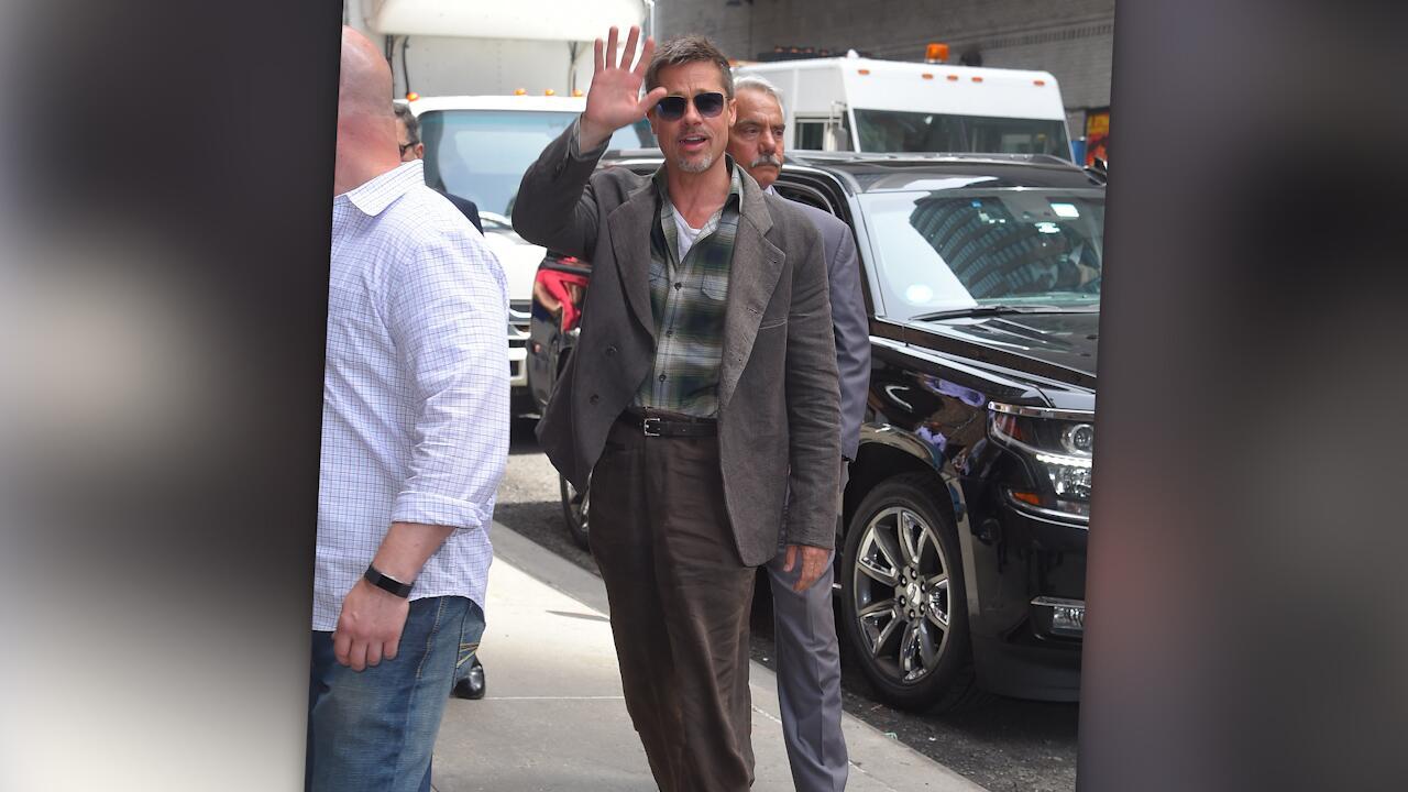 Bild zu Brad Pitt: Abgemagert nach Trennung