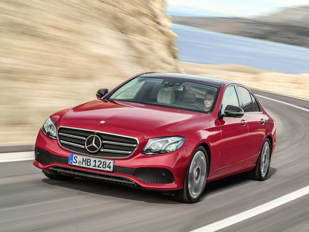 Bild zu Platz 6: Mercedes-Benz E-Klasse