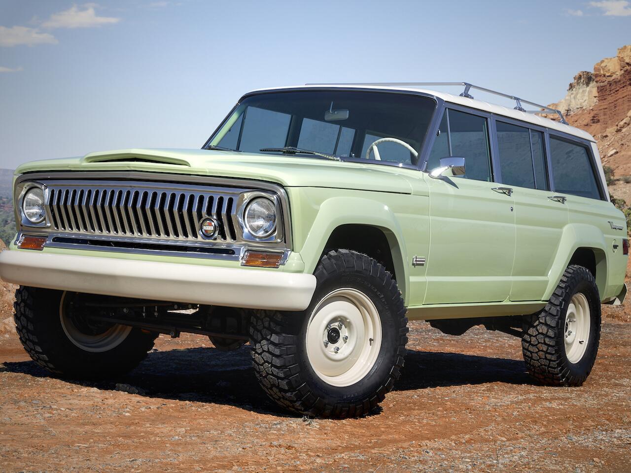 Bild zu Jeep Wagoneer Roadtrip Concept