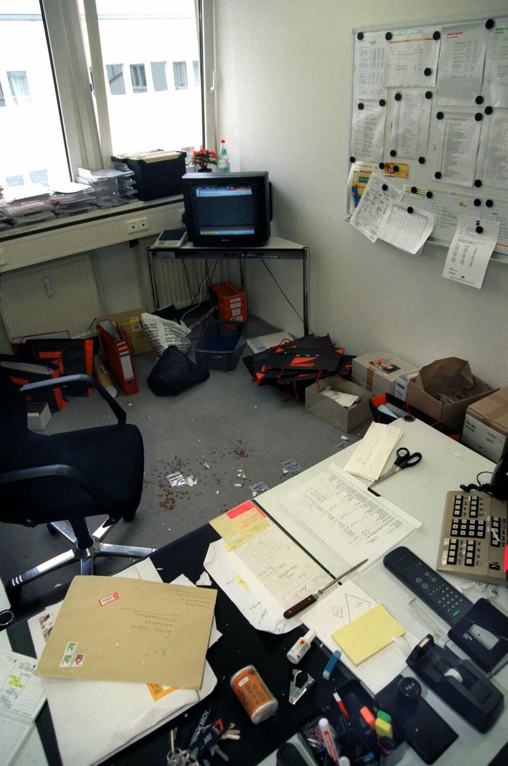 Briefbomben-Anschlag auf Arabella Kiesbauer