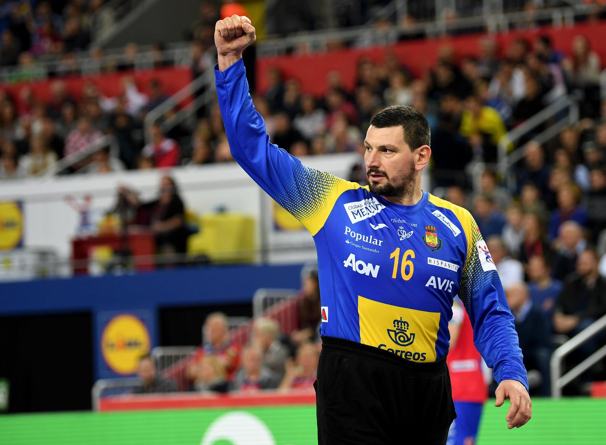 Bild zu Handball-EM: Spanien - Schweden