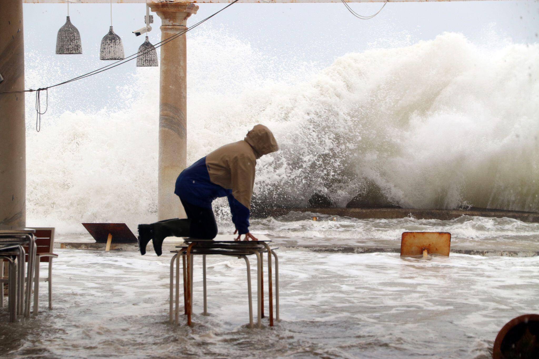 Bild zu Starke Regenfälle in Südspanien