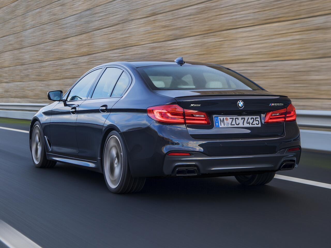 Bild zu Platz 5: BMW 5er