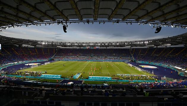 Fußball EM - Italien - Schweiz