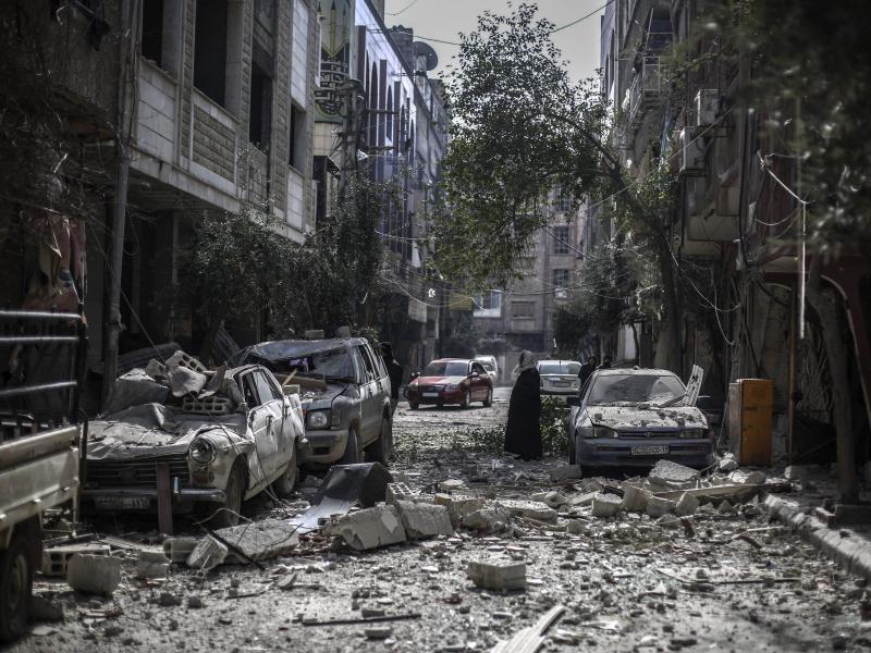 Bild zu Zerstörung in Syrien