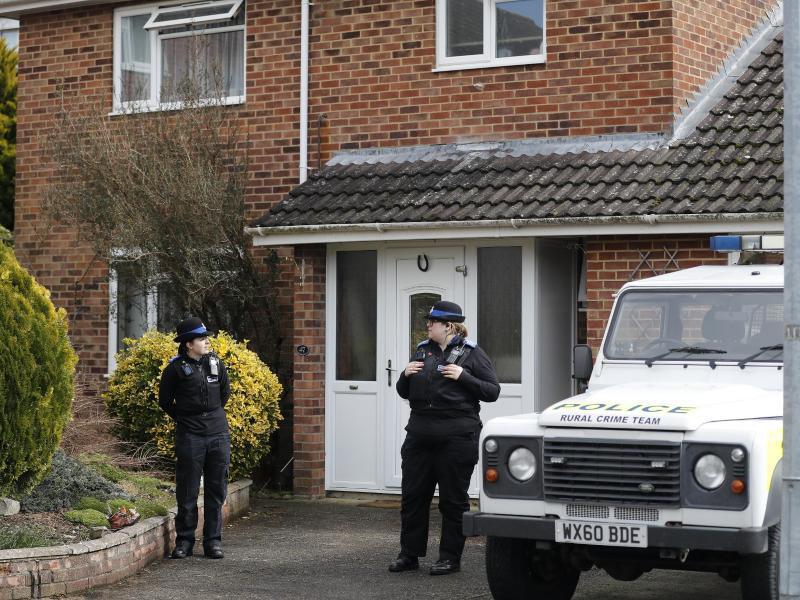 Bild zu Polizei in Salisbury