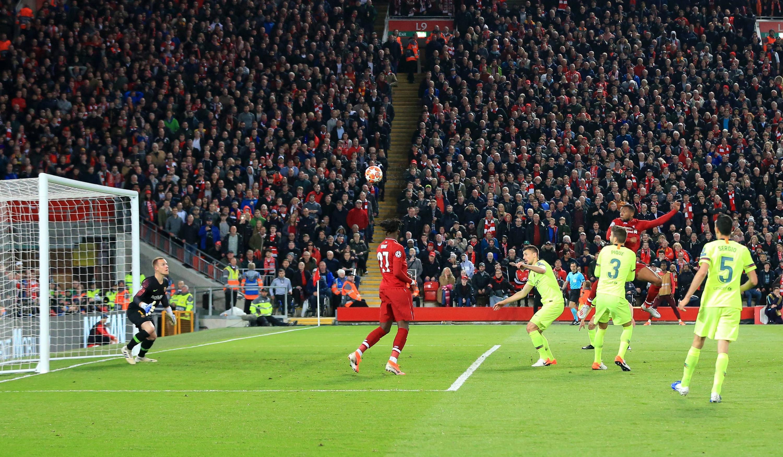 Bild zu FC Liverpool, FC Barcelona, Champions League, Halbfinale, Tor, Georginio Wijnaldum