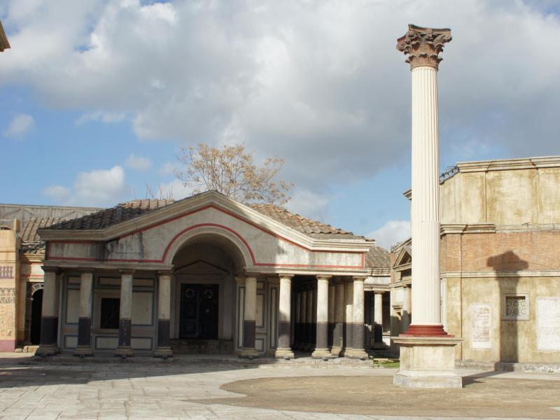 Bild zu Cinecittà - Filmset