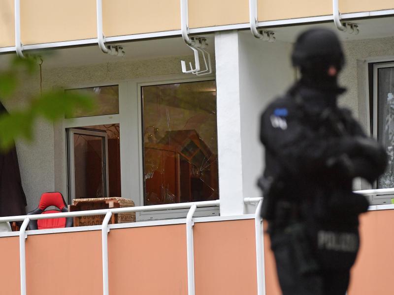 Bild zu Polizeieinsatz in Chemnitz