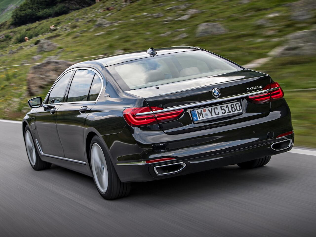 Bild zu Platz 3: BMW 7er