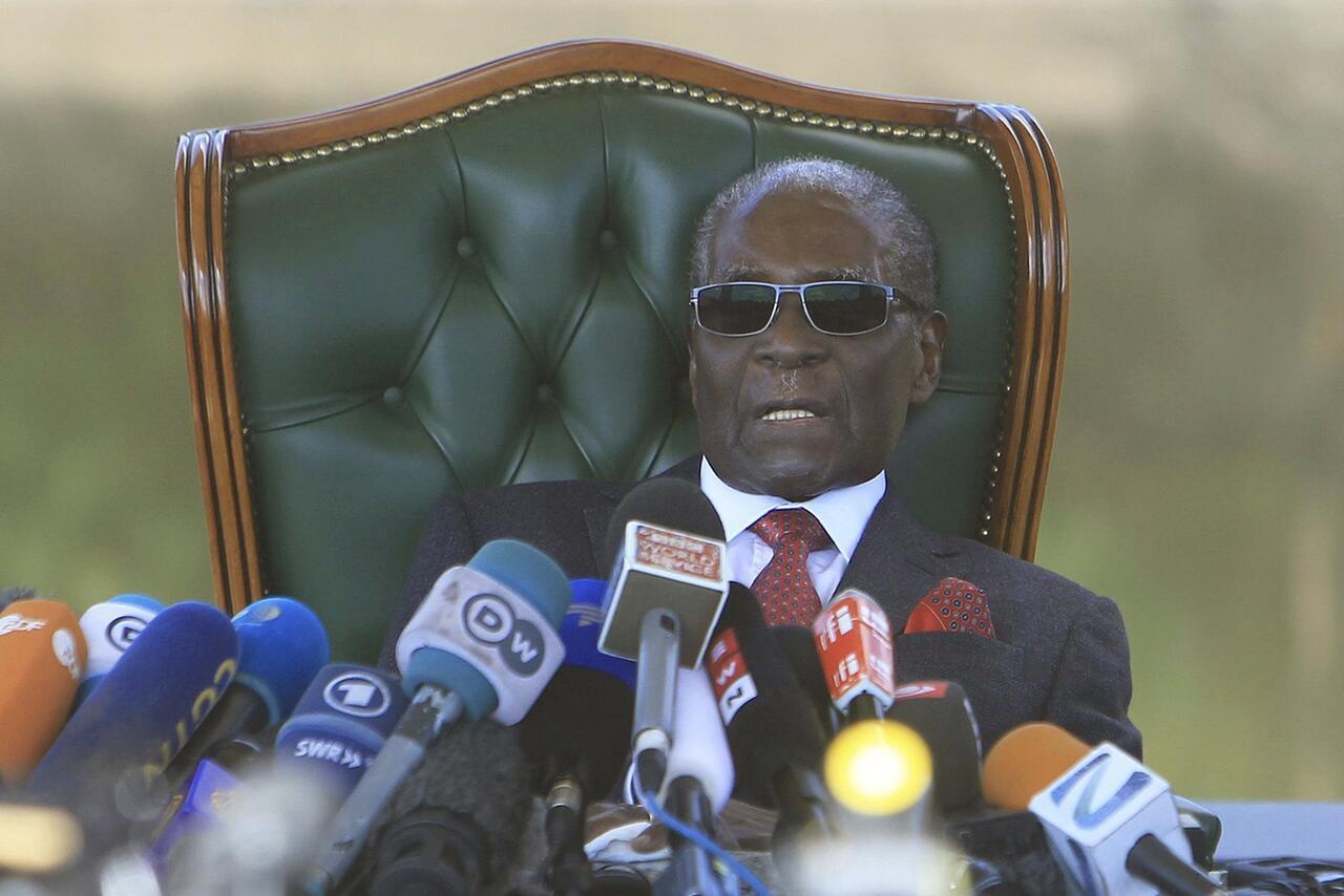 Bild zu Robert Mugabe