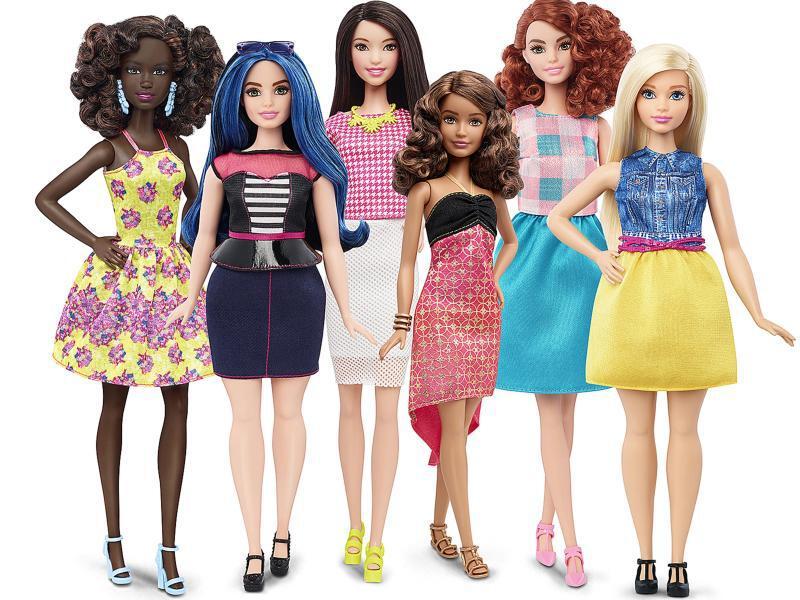 Bild zu Neue Barbie-Typen
