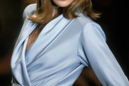 Carla Bruni, Model, Kleid, 90er