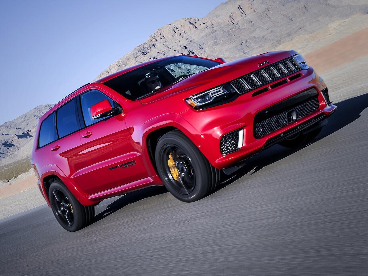 Bild zu Platz 2: Jeep Grand Cherokee