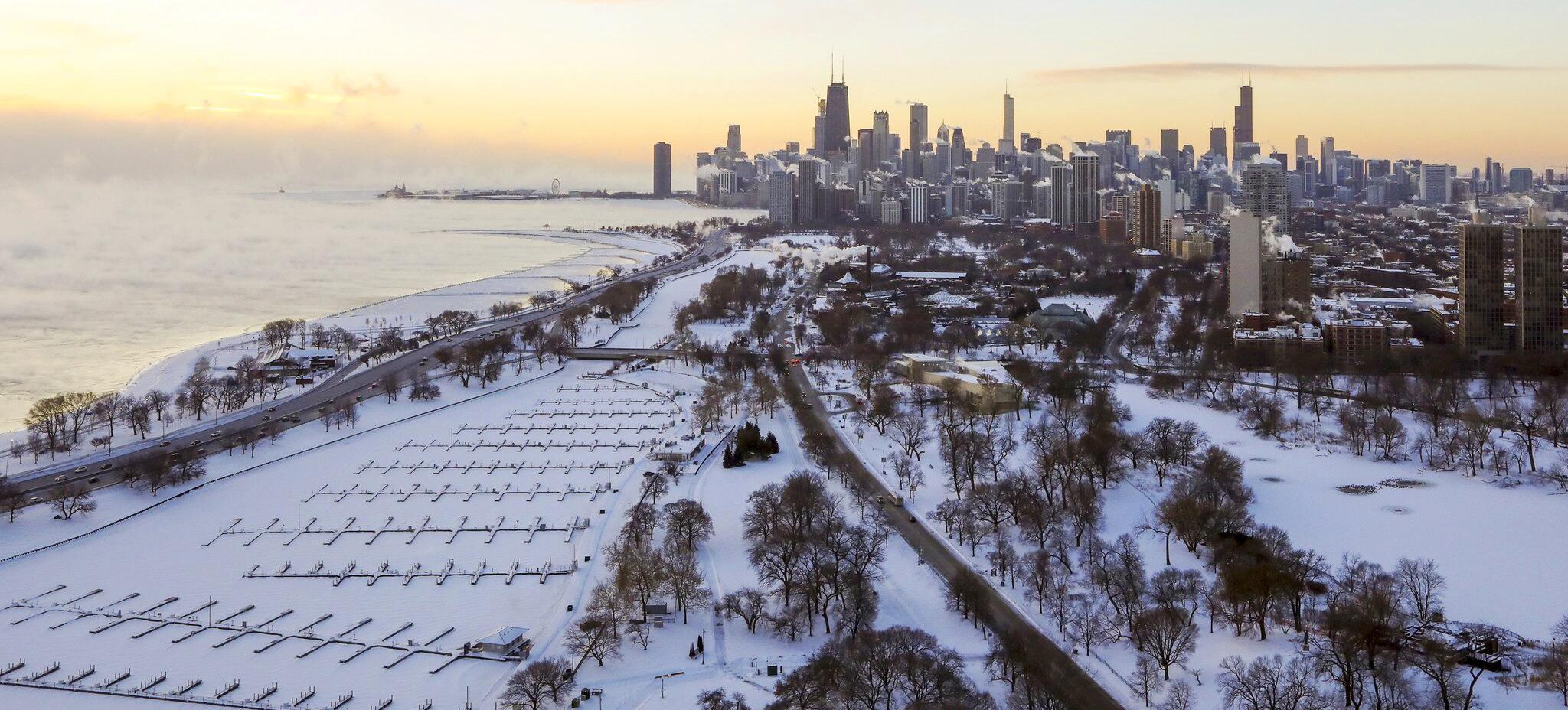 Bild zu Kältewelle in den USA