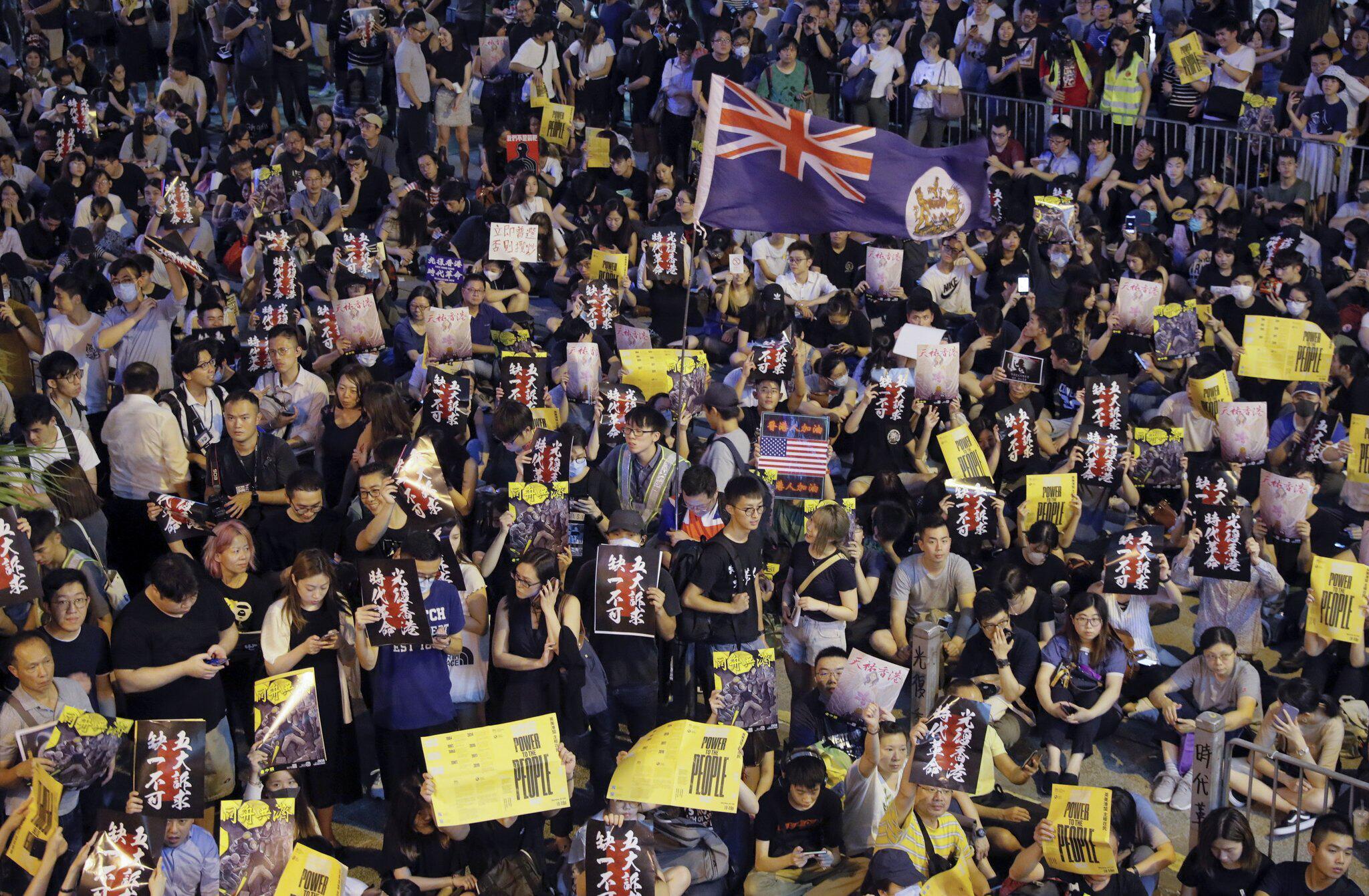 Bild zu Konflikt in Hongkong