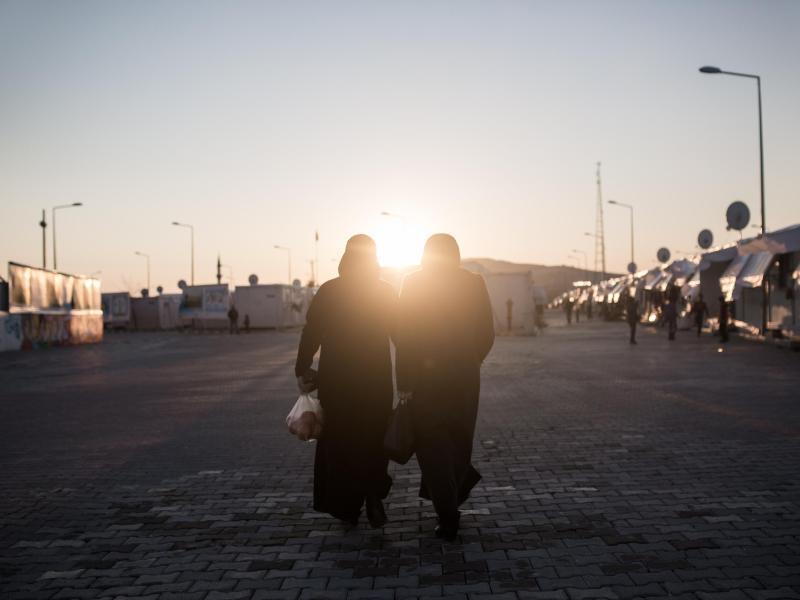 Bild zu Lage an der türkisch-syrischen Grenze