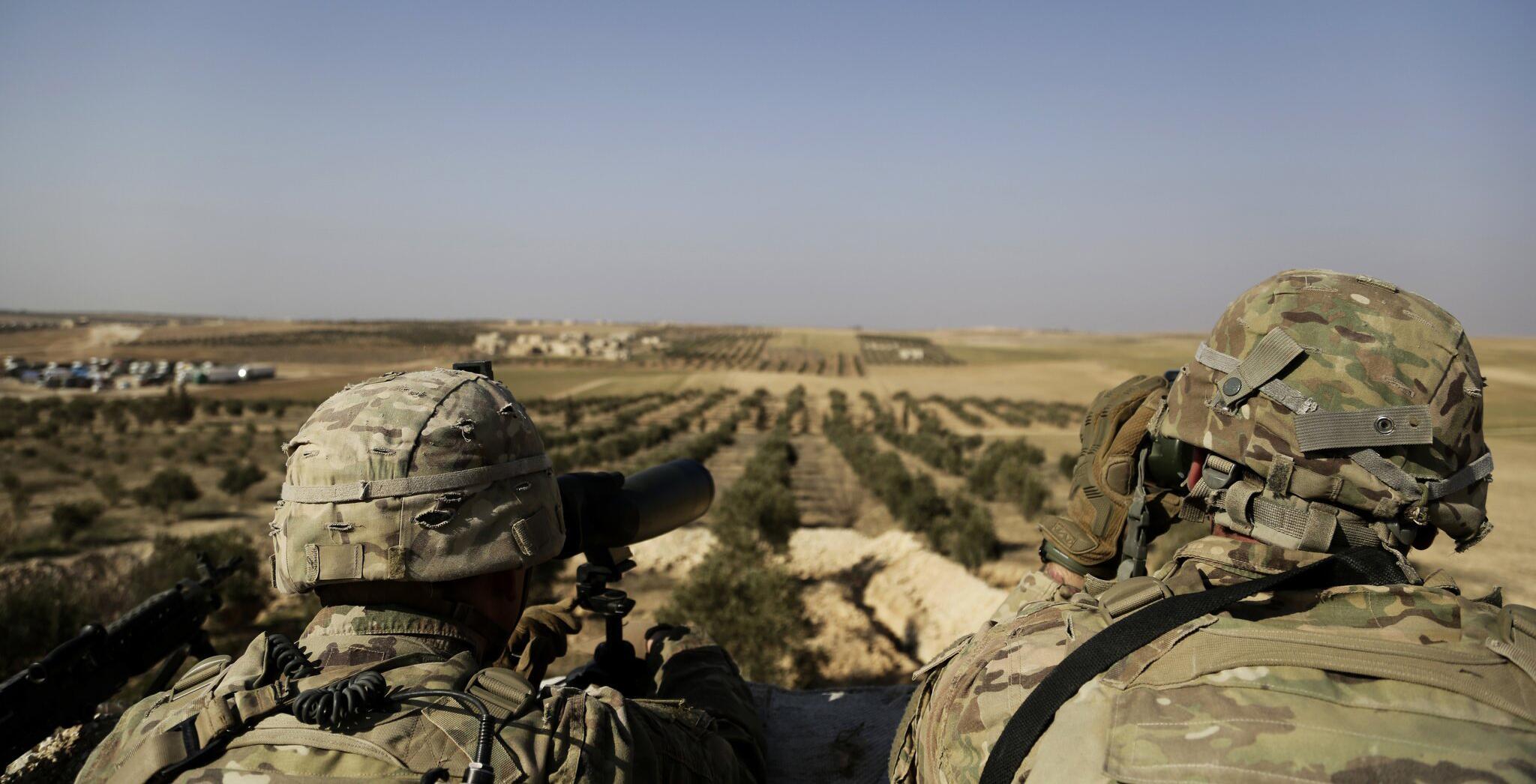 Bild zu US-Militär in Syrien