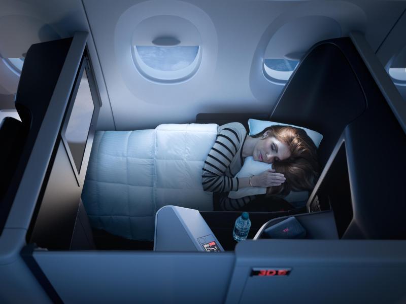 Bild zu Komfort in einer Maschine von Delta-Airlines