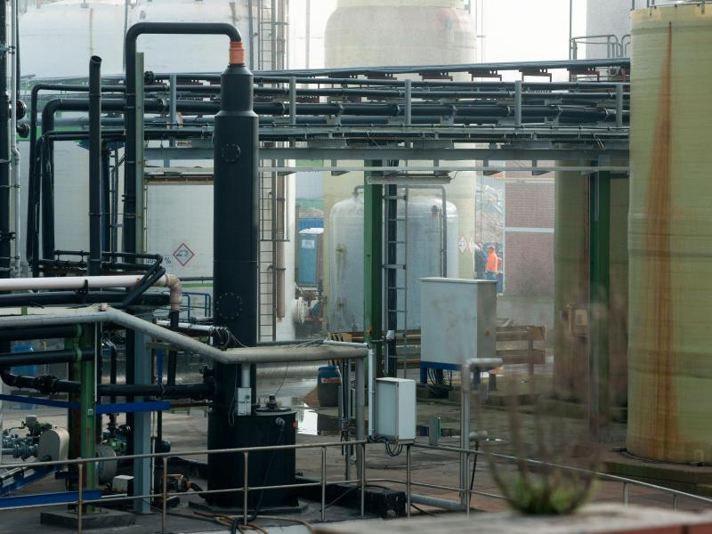 Bild zu Chemiebetrieb