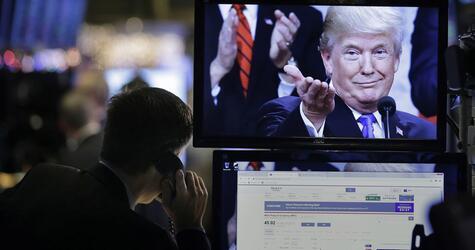Finanzmärkte, Donald Trump