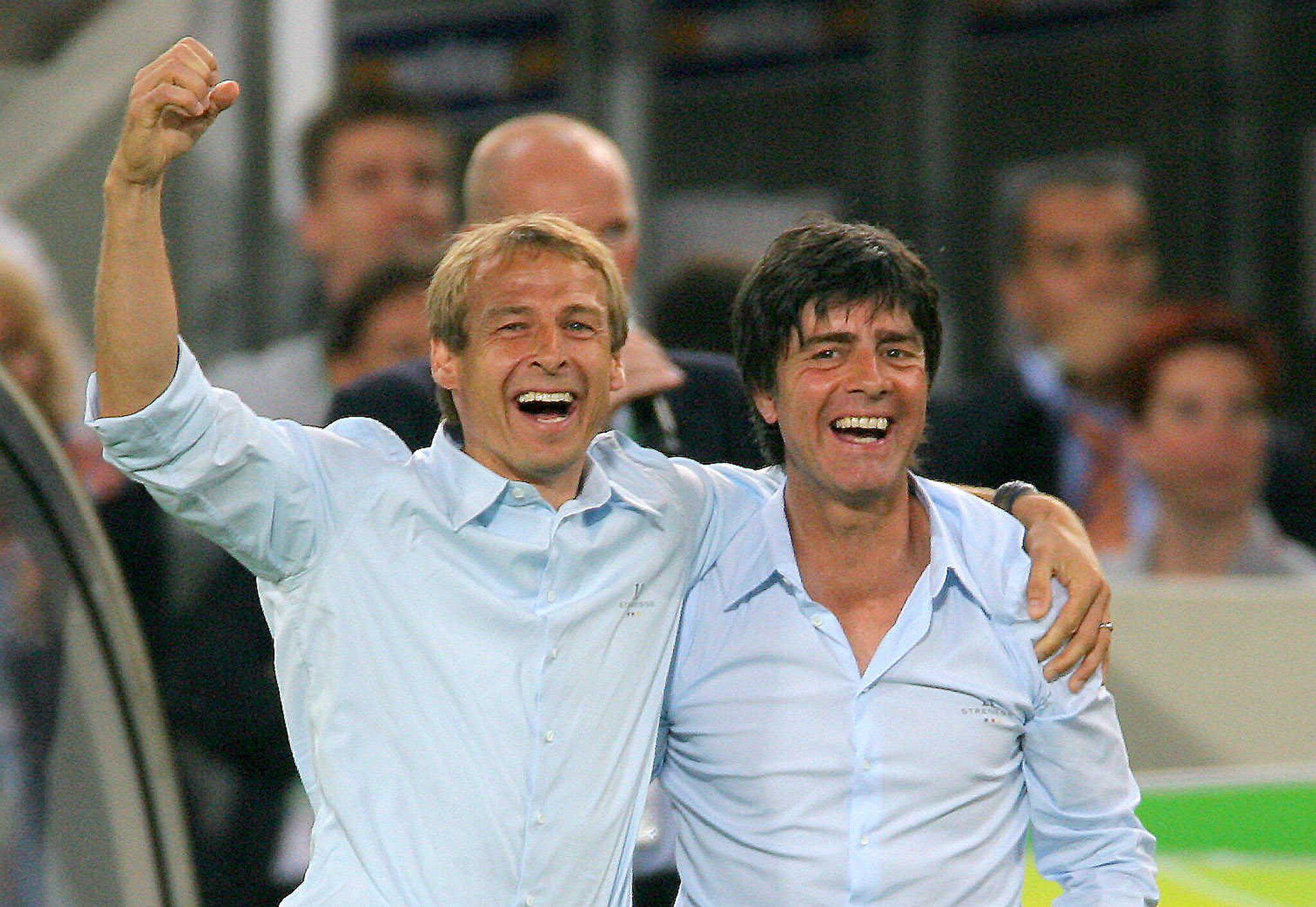 Bild zu Joachim Löw, Jürgen Klinsmann, Nationalmannschaft