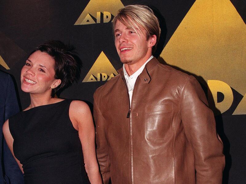 Bild zu David und Victoria Beckham