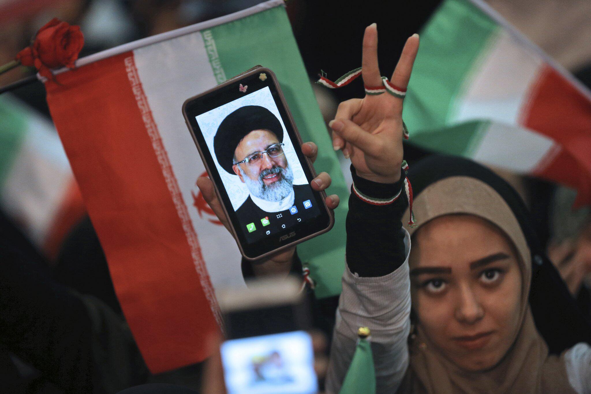 Bild zu Ebrahim Raeissis, Wahlkampf im Iran