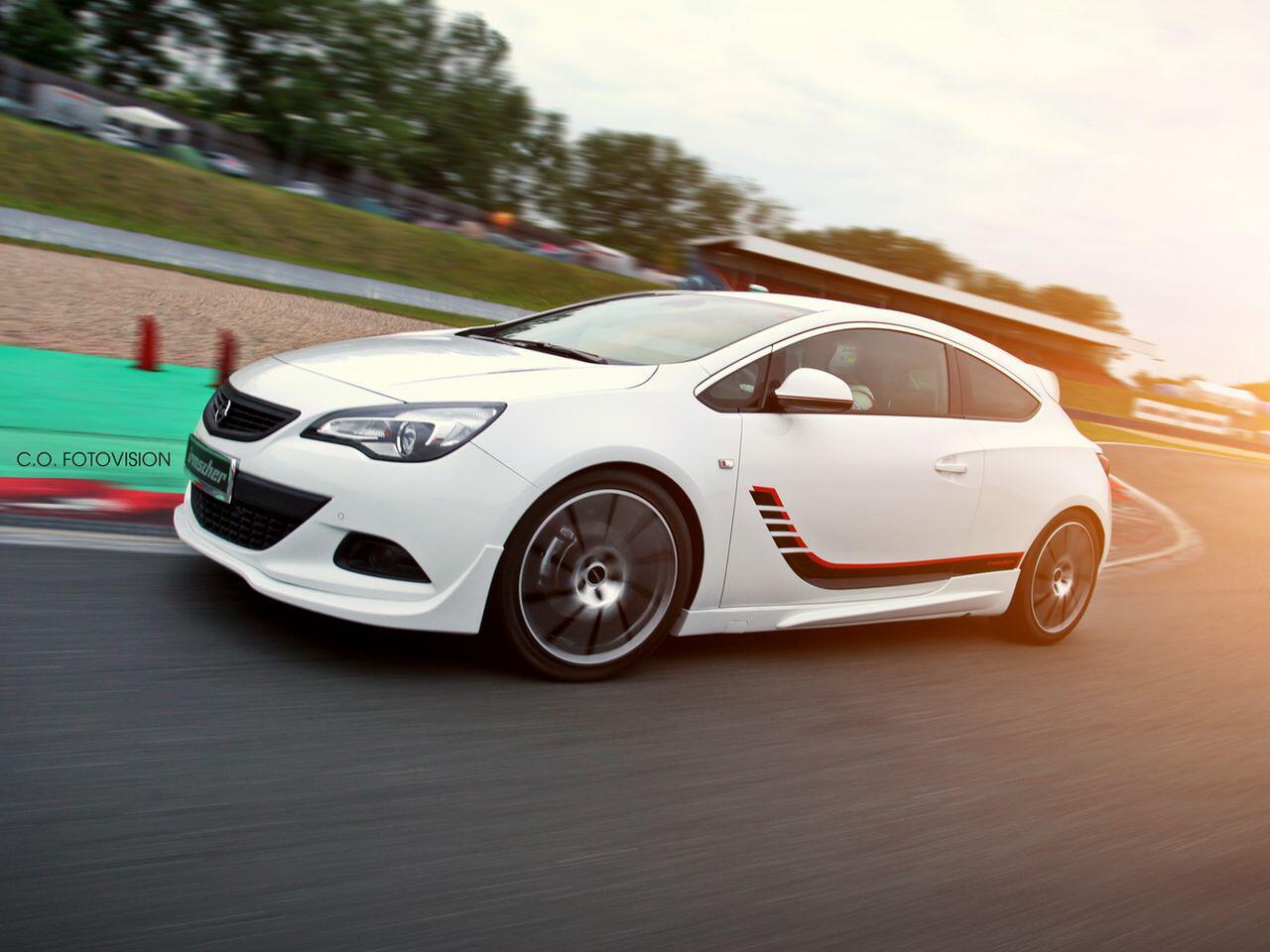 Bild zu Opel Astra GTC Turbo i 1400 von Irmscher
