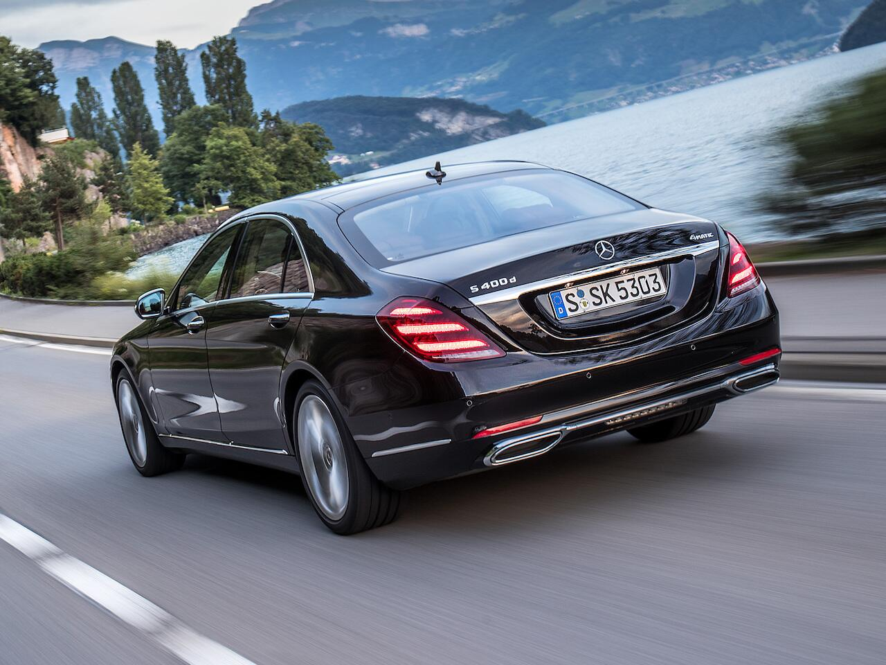 Bild zu Platz 1: Mercedes-Benz S-Klasse